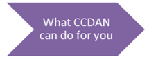 What CCDAN can do for you